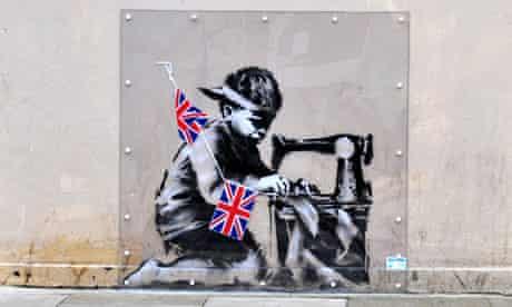 banksy mural slave labour