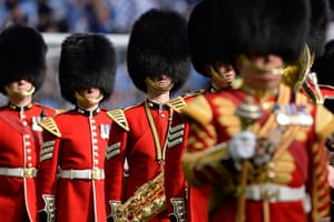 TJ Cup final 2: The Coldstream Guards at the FA Cup final