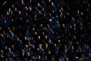 TJ Cup final 2: Manchester City fans watch the action