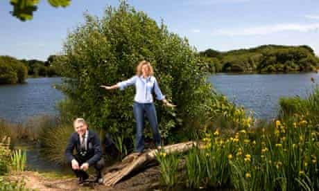 David Attenborough opens Essex nature reserve built on 50 years of London's waste