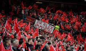Manchester United fans Sir Alex Ferguson