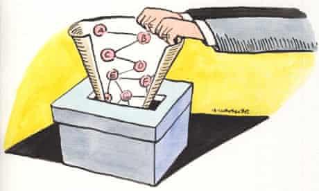 Andrzej Krauze ballot box