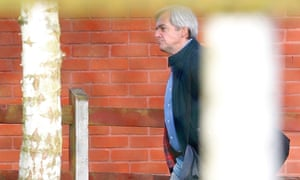 Former cabinet minister Chris Huhne is photographed on his release from Leyhill prison, in Wotton-under-Edge. Huhne and his ex-wife Vicky Pryce were jailed in March after they falsely told police she had been driving when his car was caught by a speed camera.
