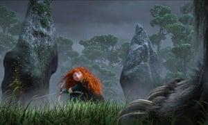 Princess Merida in Disney's Brave film