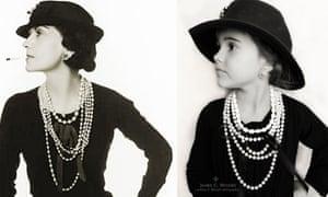 Emma as Coco Chanel.