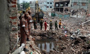 Soldiers and recovery teams are still at work at the site of the collapsed building. Meanwhile the government of Bangladesh has announced plans to raise the minimum wage for garment workers.