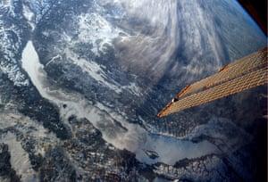 Chris Hadfield's images: Lake Baikal, Siberia