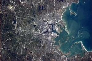 Chris Hadfield's images: Boston