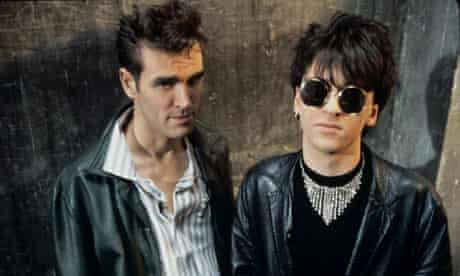 JOHNNY MARR AND MORRISSEY OF THE SMITHS - JULY 1984