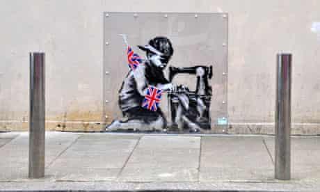 Banksy, Poundland, Wood Green