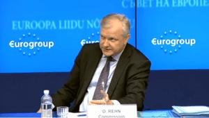 Olli Rehn at the Eurogroup, May 13 2013