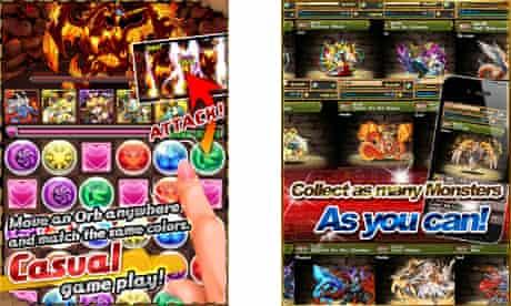 Puzzle & Dragons screenshots