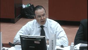 Sweden's finance minister, Anders Borg