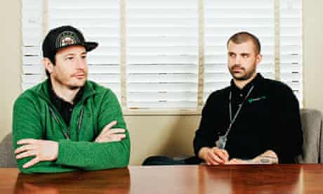 Ean Seeb and Kayvan Khalatbari of Denver Relief