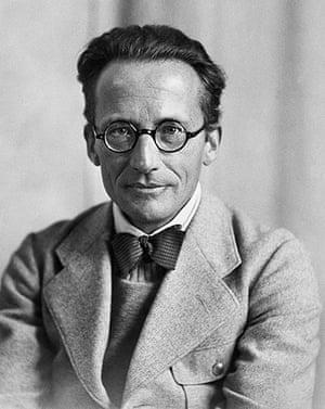 Readers': Professor Erwin Schrödinger