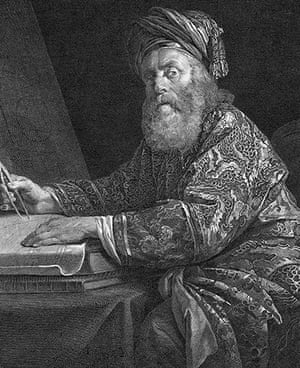 Readers': Engraving of Archimedes