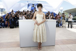 French actress and mistress of ceremonies at the Cannes Film Festival, Audrey Tautou poses during a photocall on the eve of the 66th edition of the Cannes Film Festival.