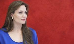 Angelina Jolie in Cancun