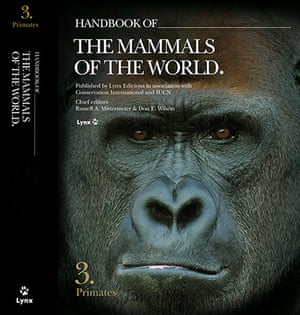 Primates of the World: Cover