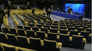Ecofin press conference ends, May 14 2013