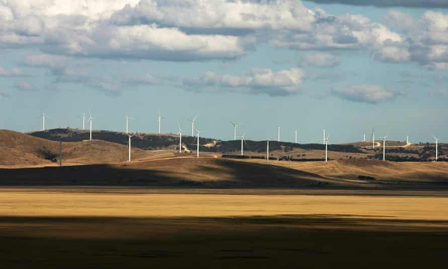 Windfarm in Australia