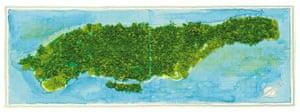 Handdrawn Maps: Markley Boyer from Mapping Manhattan