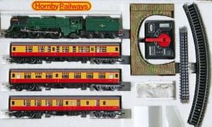 Hornby model trains