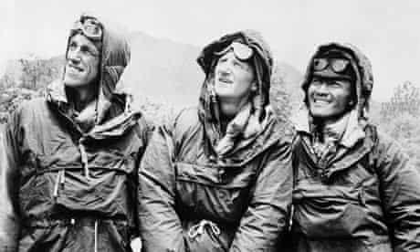 Everest: Edmund Hillary, Sherpa Tenzing Norgay and John Hunt