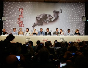 Gatsby photocall: On the panel at The Great Gatsby press conference