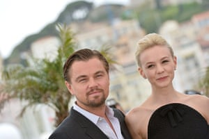Gatsby photocall: Leonardo DiCaprio and Carey Mulligan