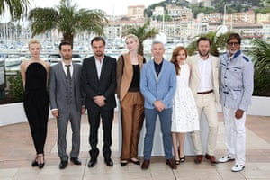 Gatsby photocall: The Great Gatsby actors pose with the director