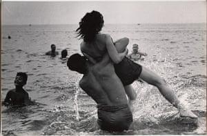 Garry Winogrand: Garry Winogrand, Coney Island, New York. c. 1952