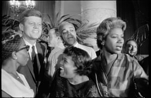 Garry Winogrand: Garry Winogrand, John F. Kennedy, Democratic National Convention