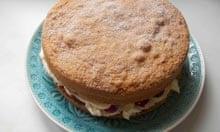 Delia Smith's Victoria sponge cake