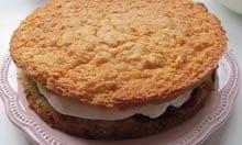 Jane Grigson's Victoria sponge cake