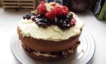 Lily Vanilli's Victoria sponge cake