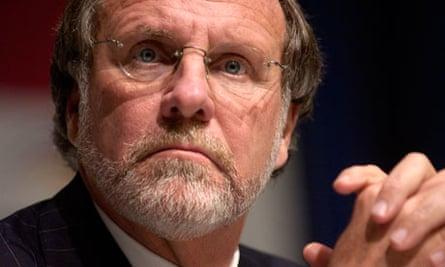 Jon Corzine former MF global chief executive