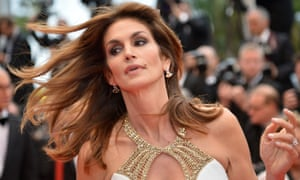 US model Cindy Crawford arrives for the screening of the Great Gatsby atf the Cannes Film Festival.