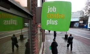 A jobcentre sign