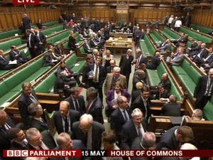 MPs voting on the EU referendum amendment