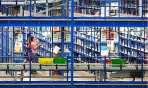Amazon distribution centre in UK