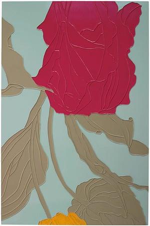 Gary Hume: Gary Hume Tulips 2009