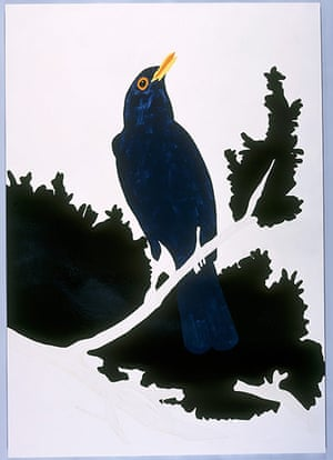 Gary Hume: Blackbird 1998