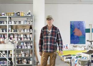 Gary Hume: Gary Hume in his London studio