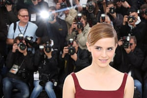 Cannes photocalls: Emma Watson poses during the photocall for The Bling Ring