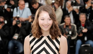 Cannes photocalls: Katie Chang at The Bling Ring photocall