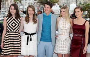 Cannes photocalls: Cast members Katie Chang, Taissa Farmiga, Israel Broussard, Claire Julien a