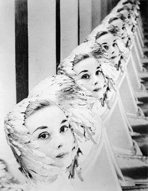 Erwin Blumenfeld: Audrey Hepburn in 1952
