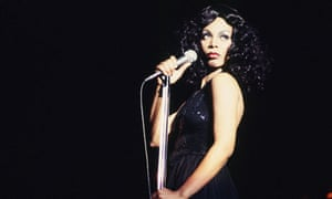 Donna Summer ... embarrassed by Love to Love You Baby. Photograph: Michael Ochs Archives/Getty Image