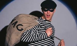 A burgler breaking in is every householder's nightmare